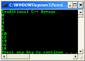 how to set an array equal to one value c++