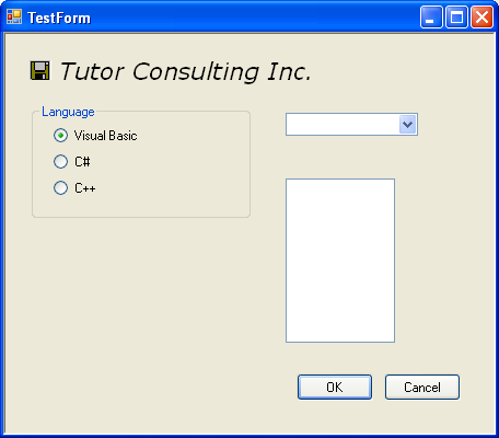 Windows Forms with TextBox control